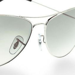 17mm Clip-on PVC Replacement Nose Pads for Ray-Ban Sunglasse