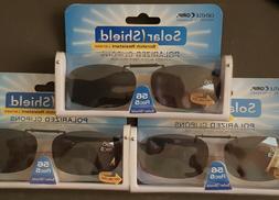 3 Pack Solar Shield Polarized Clip-on Sunglasses 56 Rec5 Scr