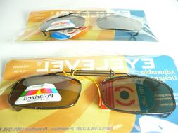 Adjustable CLIP ON Polarized Reading Sunglasses Men's Women'