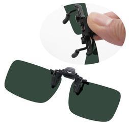 Anti-glare Clip On Night Driving Glasses Sunglasses Spectacl