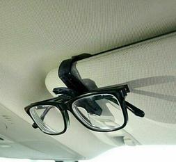 Car Sunglasses Case Box Holder Eyeglasses Sun Visor Card Tic