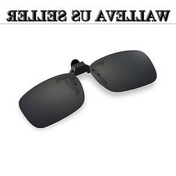 Walleva Clip-on Flip-up Sunglasses Lenses - Multiple Options
