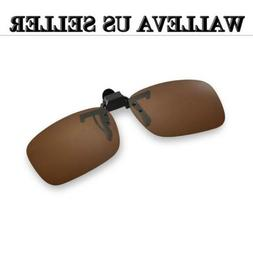 Walleva Clip-on Flip-up Sunglasses Lenses - Multiple Options
