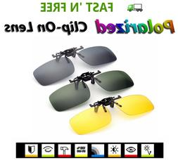 Clip-On Flip-Up Polarized Lens for Regular or Prescription G