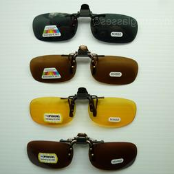 Clip on sunglasses flip up glasses 100% UV 400 blocking fish