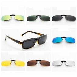 Clip-on Polarized Sunglasses Light Weight Fishing Driving UV