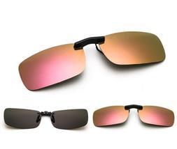 Clip-on Sunglasses Polarized Lightweight Lenses UV400 Men Wo