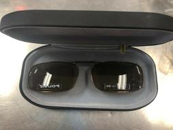 COCOONS CLIP-ON SUNGLASSES RC15-50 BRONZE WITH AMBER LENS L4