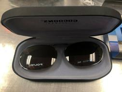 COCOONS CLIP-ON SUNGLASSES RC2-52 GUNMETAL WITH AMBER LENS L