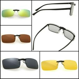 Clip On Sunglasses Without Frame over-Glasses Attachment
