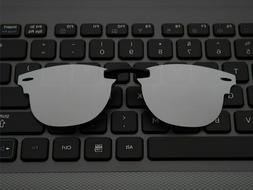 Custom Fit Polarized CLIP-ON Sunglasses For Clubmaster RB515