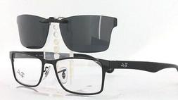 Custom Fit Polarized CLIP-ON Sunglasses For Ray-Ban RB6238 5