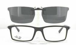 Custom Made for Ray-Ban 5269-53X17 Polarized Clip-On Sunglas