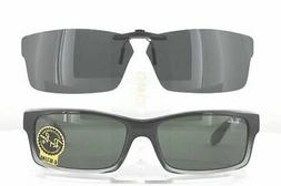Custom Made for Ray-Ban RB4151-ONE-SIZE Polarized Clip-On Su