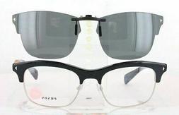 Custom Made for PRADA VPR22O-54X19 Polarized Clip-On Sunglas