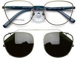 Alain Mikli Eyeglasses frame with available Sunglasses Clip-