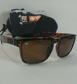 Helm Ken Block Matte Leopard SPY Sunglasses+Spy Microfiber P