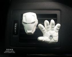 Iron man Car vent clip, car air freshener, car accessories,