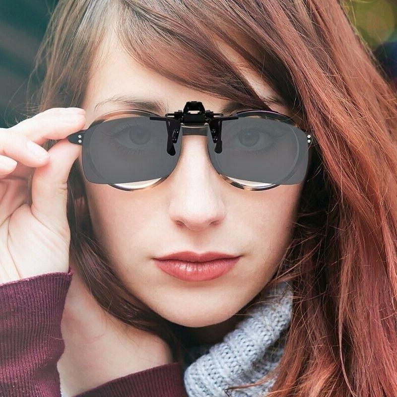 2 Clip Flip-Up Glasses Day Vision