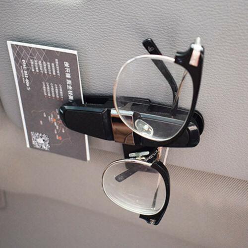 Glasses Car Sun Visor Sunglasses Mount with Card Clip