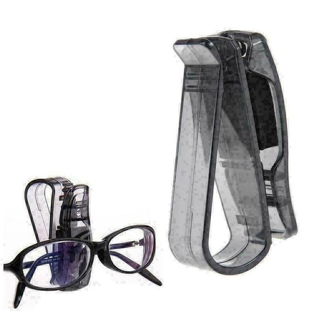 black car auto visor glasses sunglasses card