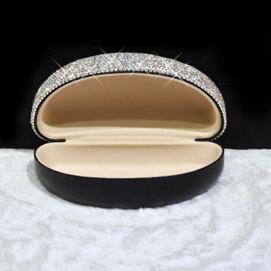 Bling Crystal Diamante Eyeglass Case