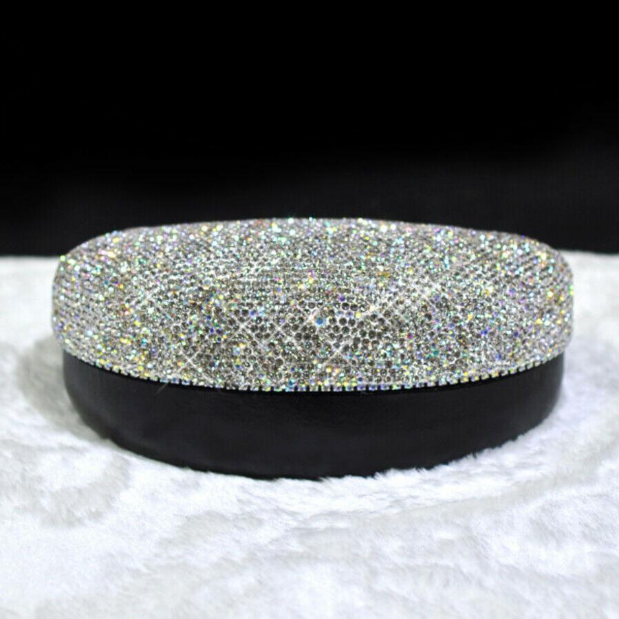 Bling Diamante Eyeglass Box Case cover Holder