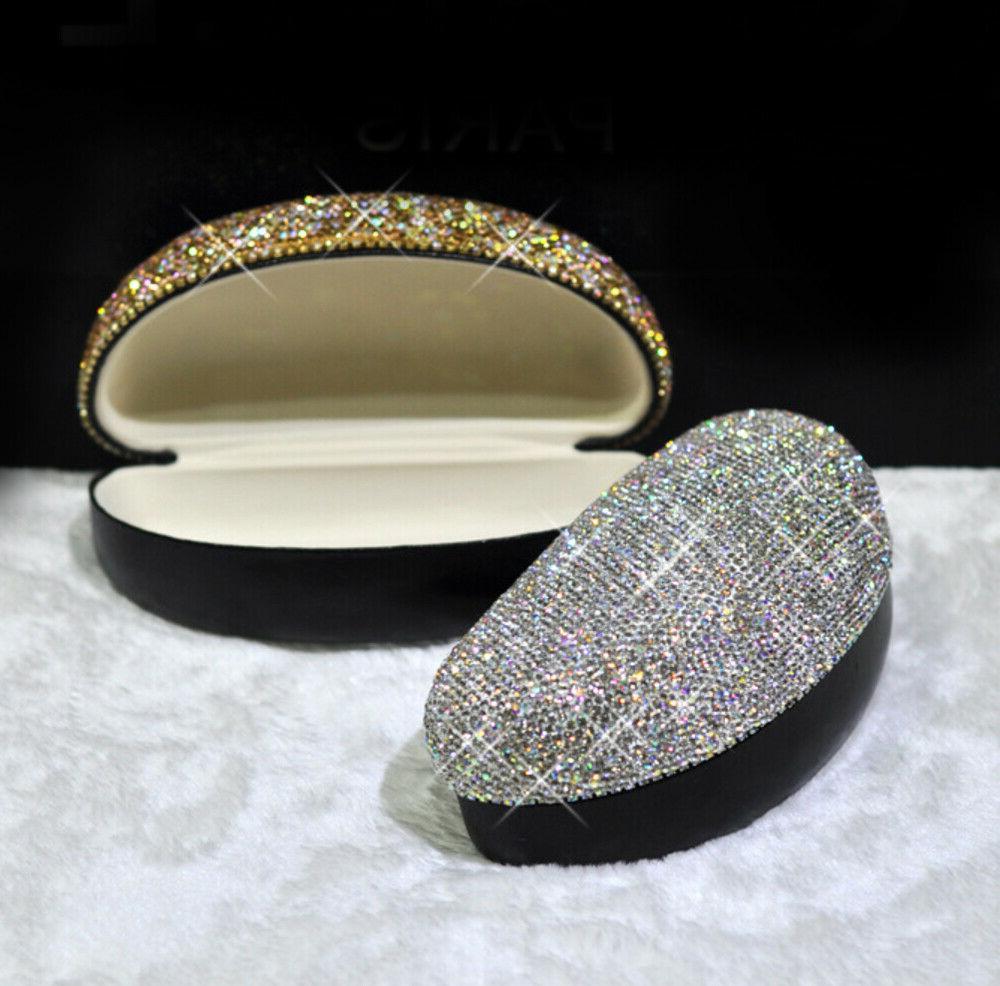 bling crystal diamante diamond eyeglass sunglasses storage