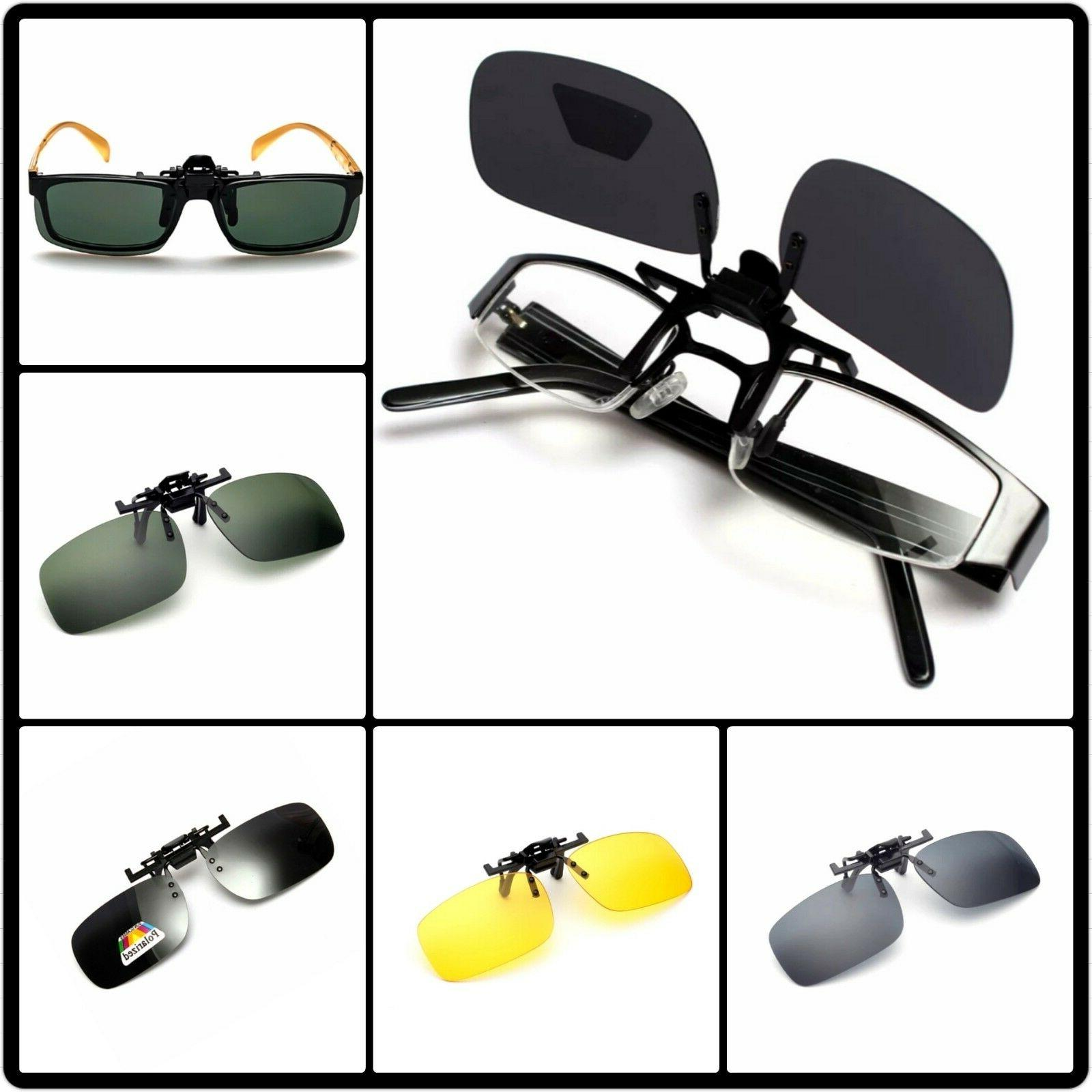 clip on overglasses sunglasses without frame clip