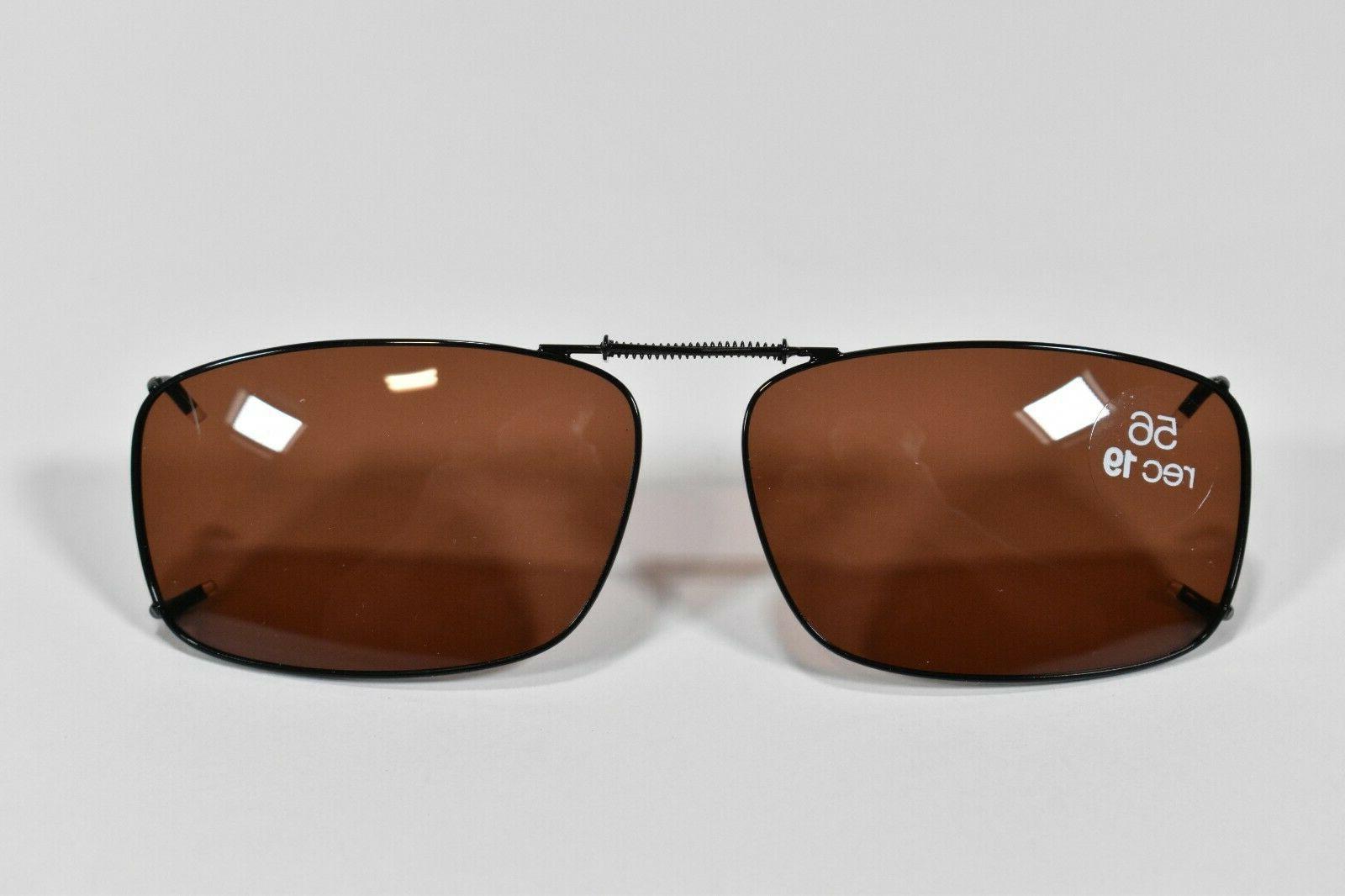 SOLAR Clip-on Sunglasses 56