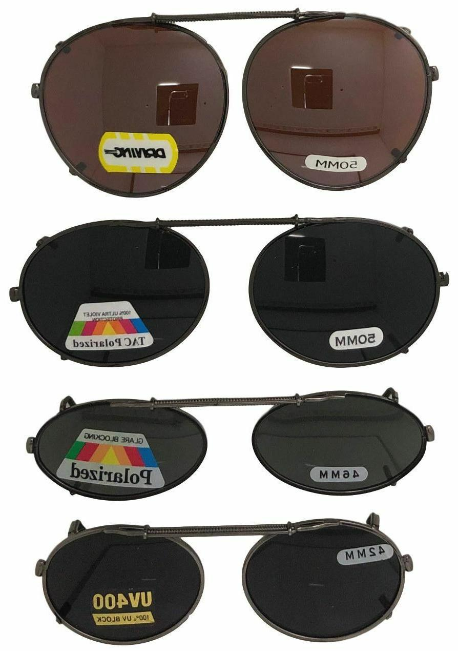 clip on sunglasses for oval round frame