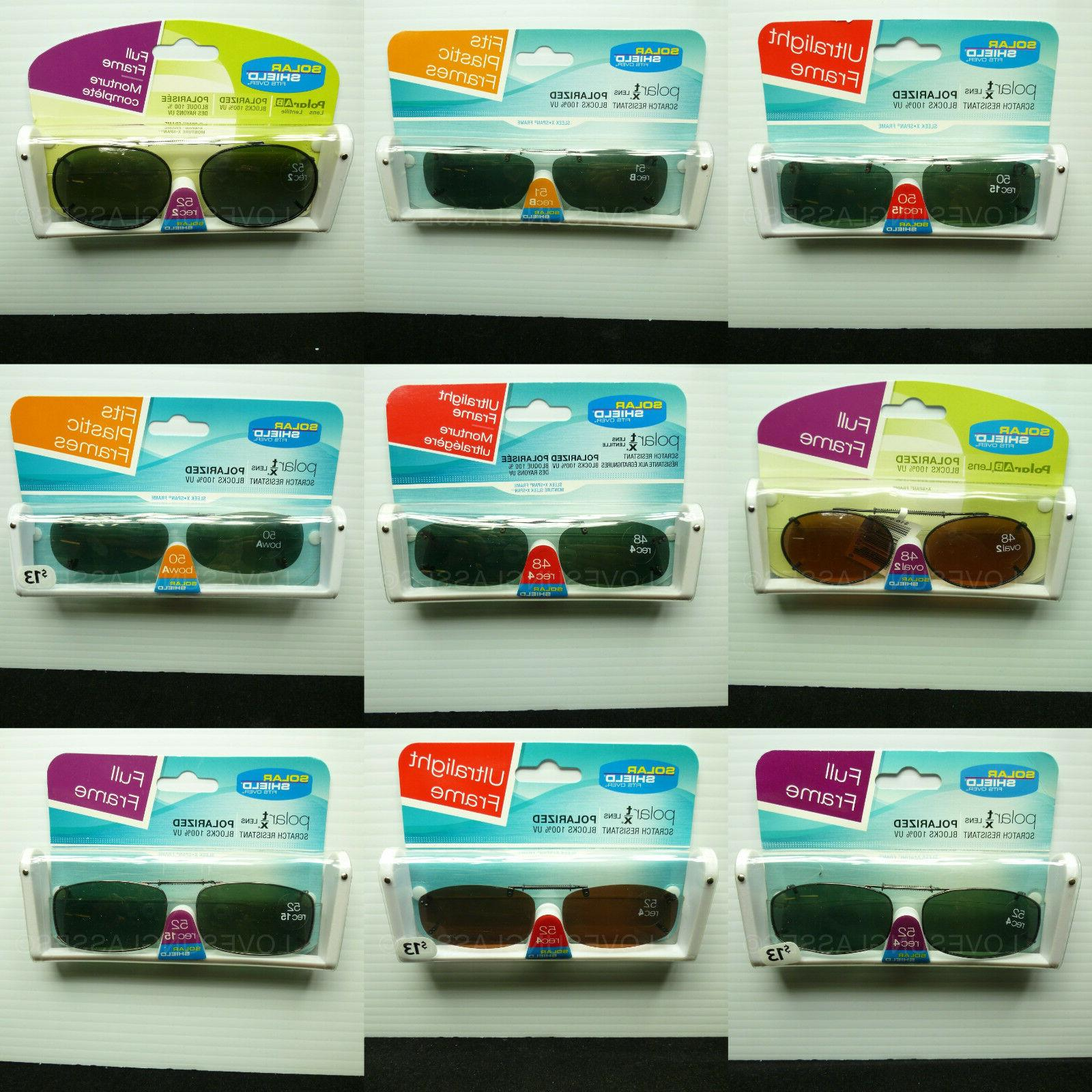 clip on sunglasses polarized spring brand new