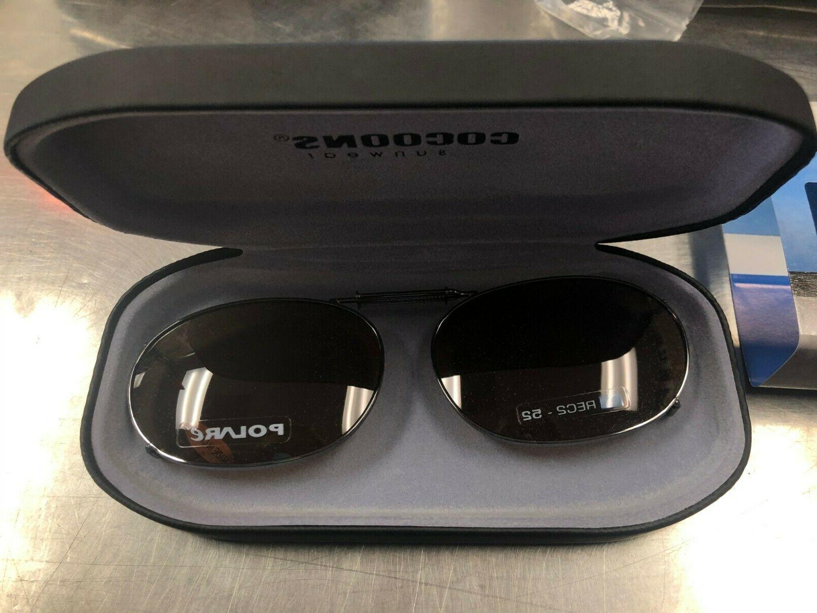 clip on sunglasses rc2 52 gunmetal