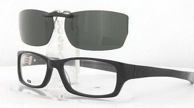 custom fit polarized clip on sunglasses