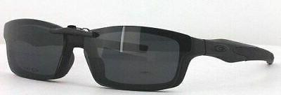 Custom Made for Oakley CROSSLINK-0X8027-53X17 Polarized Clip-On Sunglasses (Eyeg
