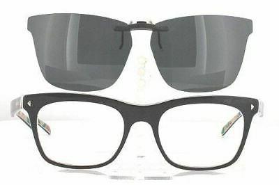 Custom Made for PRADA VPR01N-54X19 Polarized Clip-On Sunglas