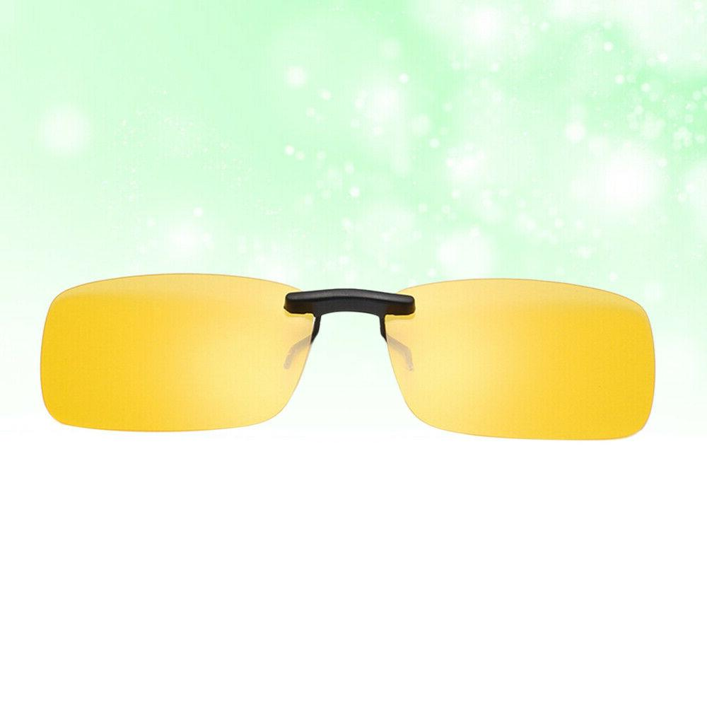 Fashion Clip Night Vision Glasses for Men and