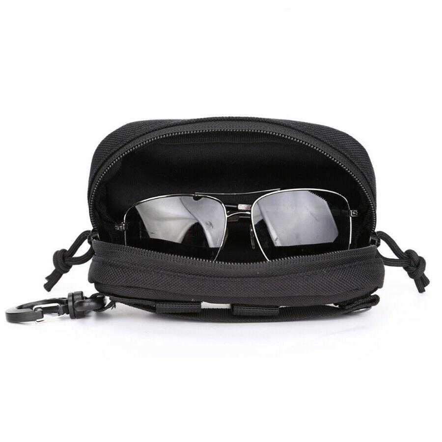 Hard Case Tactical Molle Zipper Sunglasses 1000D with