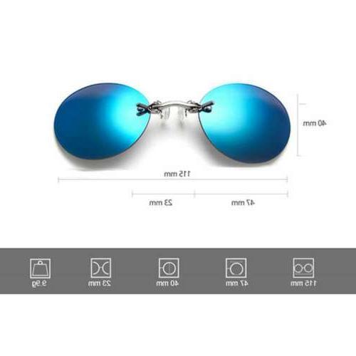 Matrix Morpheus Rimless On Glasses