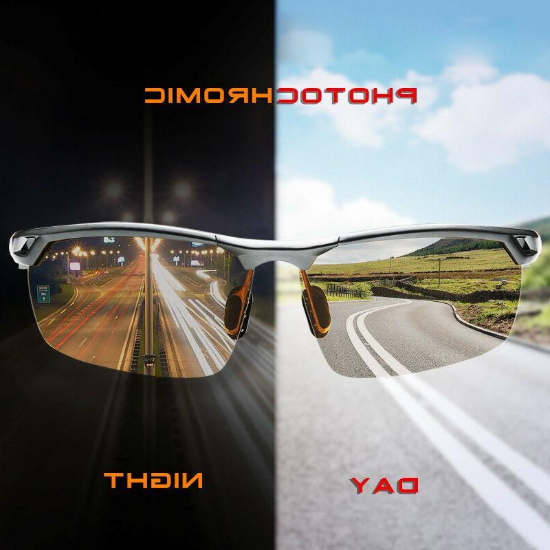 men s aluminum polarized photochromic sunglasses driving