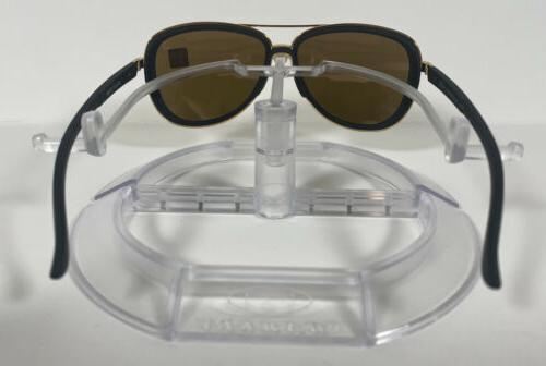 New Oakley Sunglasses Black 24K Iridium