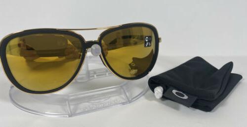 New Oakley Sunglasses Black Velvet 24K Iridium OO4129-0358