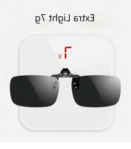 Polarized On Flip Up Sunglasses Unisex