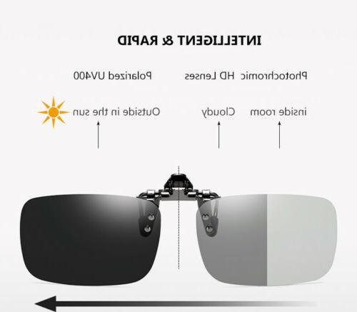 Polarized Clip Up for Glasses