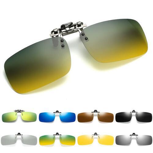 polarized clip on flip up sunglasses unisex
