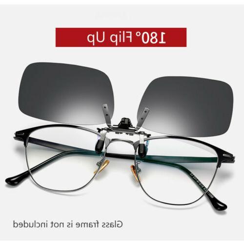 Polarized On Flip Up Unisex Shades for Myopia