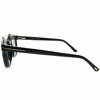 3 SOLAR SHIELD Clip-on Polarized Sunglasses Size 51 Oval 2 B