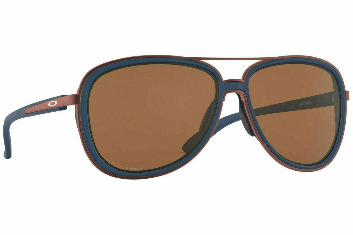 split time oo4129 1358 sunglasses poseidon prizm