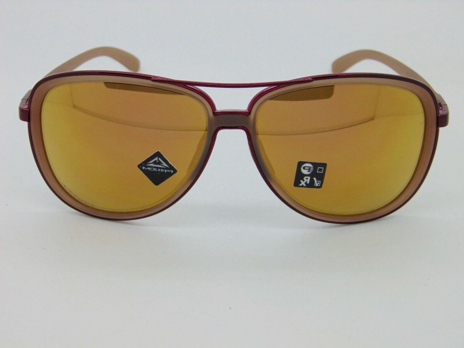 OAKLEY SPLIT TIME Matte Rose Aviator Sunglasses