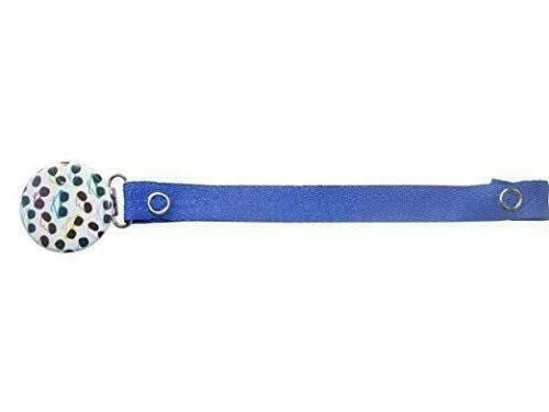 sunglasses pacifier clip blue